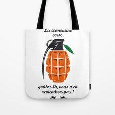 La clémentine corse, the corsica clementine Tote Bag