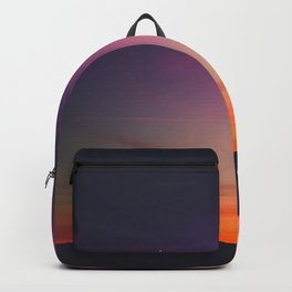 sky on fire Backpack