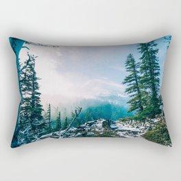 Overlook the Wilderness Rectangular Pillow