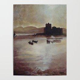 Kisimul castle Poster