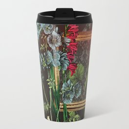 Florales Portrait Disaster Travel Mug