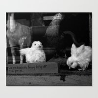 pixies Canvas Prints featuring Pixies by Samara