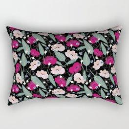 Botanical pink pattern Rectangular Pillow