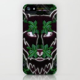 Wolf in the Shadows iPhone Case