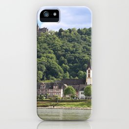 Burg Osterspai am Rhein iPhone Case