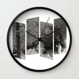 Coulrophobia Woods Wall Clock