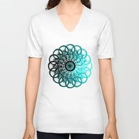 cycle V-neck T-shirts featuring Cycle by Advocate Designs