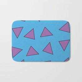 Rocko's Triangles Bath Mat