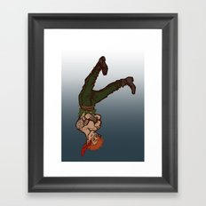 the cleverness of me Framed Art Print