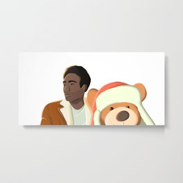 Childish Gambino 3005 Illustration Metal Print