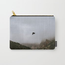 Free as a bird flying through the mountains, Big Bend - Landscape Photography Carry-All Pouch