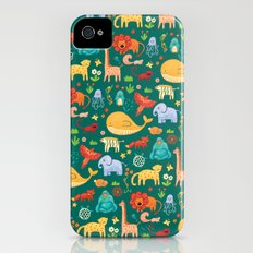 Animals Slim Case iPhone (4, 4s)
