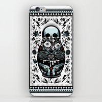 russian iPhone & iPod Skins featuring Russian Doll by koivo