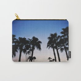 Palm Trees at Dusk Carry-All Pouch