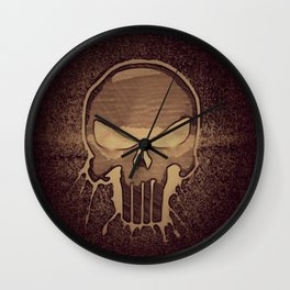 Death By Punishment Wall Clock