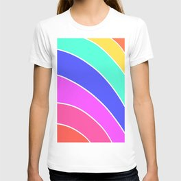 Rainbow Ice Cream Layer Cake T-shirt