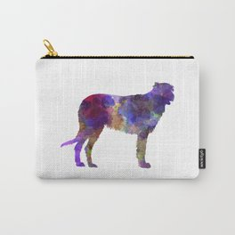 Irish Wolfhound in watercolor Carry-All Pouch