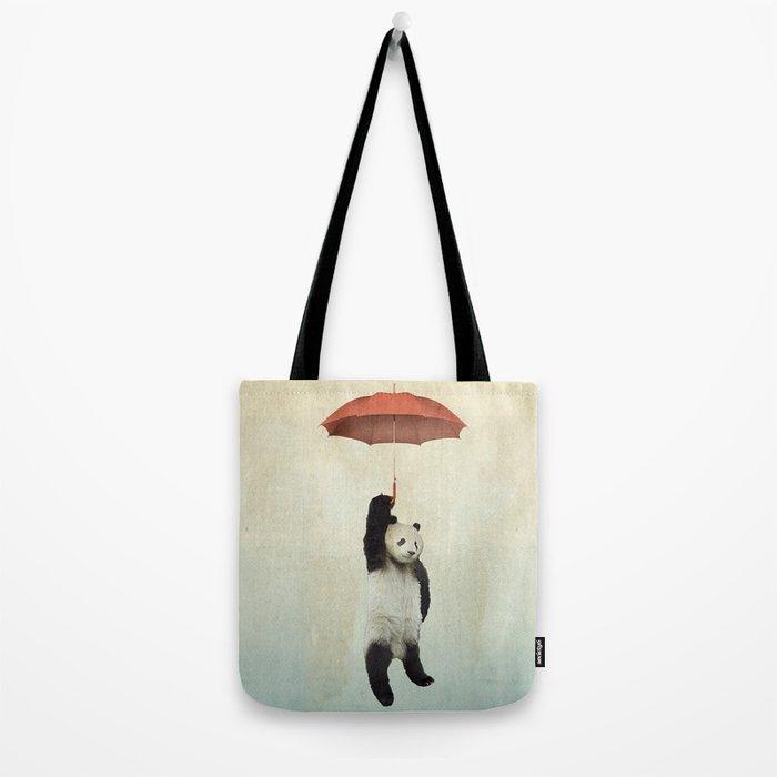 Pandachute Tote Bag