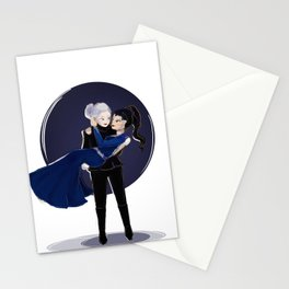 Dark Swan and Evil Queen Stationery Cards