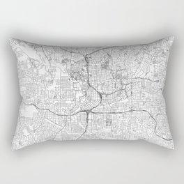 Atlanta Map Line Rectangular Pillow