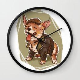 Corgi Jacob Frye Wall Clock