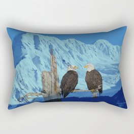 Seeing Double! Rectangular Pillow