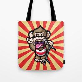 Ape Mic Tote Bag