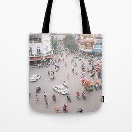 Traffic in Hanoi Tote Bag