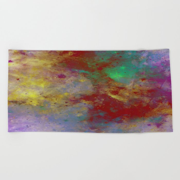 Through The Haze Of Colour Beach Towel