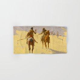 "Frederic Remington Western Art ""The Parley"" Hand & Bath Towel"