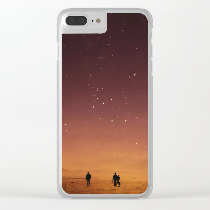 Planet Walk Clear iPhone Case