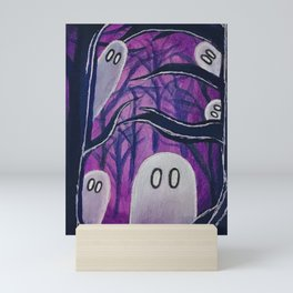 Ghostly Mini Art Print