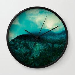 Colorado Skies Wall Clock