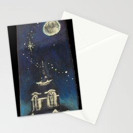Manti Utah LDS Temple Tie Stationery Cards