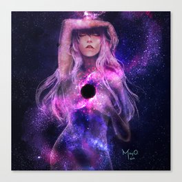 Supermassive Black Hole Canvas Print