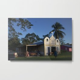 Indian Church Metal Print