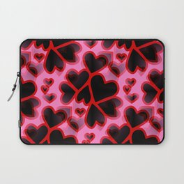 Explosion Of Hearts Laptop Sleeve