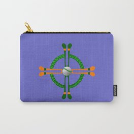 Hurley and Ball Celtic Cross Design - Solid colour background Carry-All Pouch