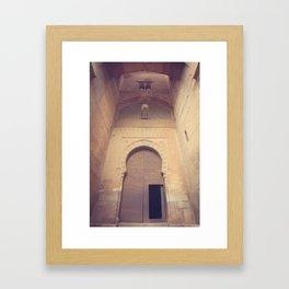 Gate of Justice Framed Art Print