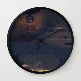 German Haunebu WWII Test Vehicle UFO Wall Clock