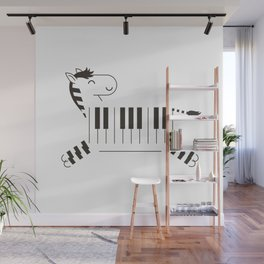 Life is like a piano Wall Mural