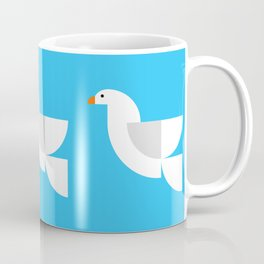 Geometric Dove Coffee Mug