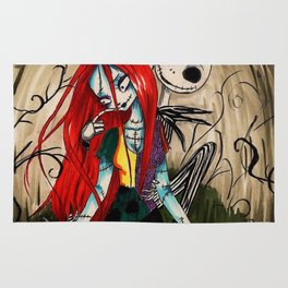 Jack and sally nightmere Rug