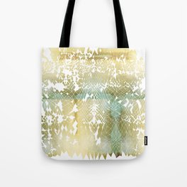 Fractured Gold Tote Bag