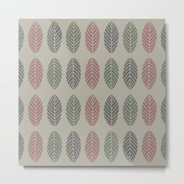 Hojarasca Metal Print