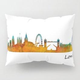 London City Skyline HQ v1 Pillow Sham