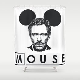 Gregory Mouse Shower Curtain