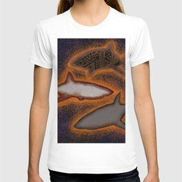 Bright sharks T-shirt