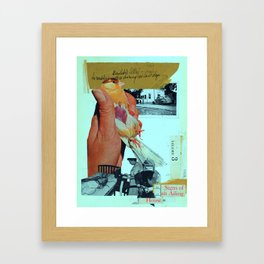 signs of an ailing house Framed Art Print