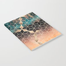 Ombre Dream Cubes Notebook